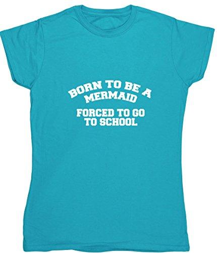 T-Shirt Gr. XXL, Blau - Saphirblau (Teen Beach Movie Girl)