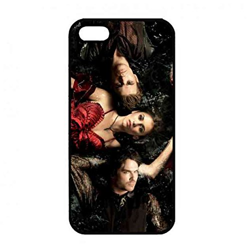 Hülle,Apple iPhone 5/5S The Vampire Diaries Charakter Poster Hülle,The Vampire Diaries Logo Tpu Dünn Hülle Für Apple iPhone 5/5S Schlichtes Hülle (Charakter-poster)