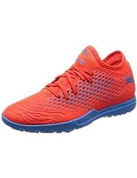 Puma Men s Future 19.4 TT Red Blast-Bleu Azur Football Boots-8  (4060978773333 b7396bb3e5