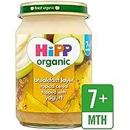 Hipp Desayuno Orgánico Dúo Muesli Tropical 160G - Paquete de 6