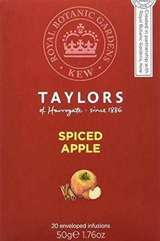 Taylors & Royal Botanic Gardens Kew Spiced Apple 20 Tea Bags (Pack of 3, 60 bags in total)