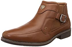 Red Chief Mens Tan Leather Formal Shoes - 6 UK/India (39 EU)(RC3410 006)