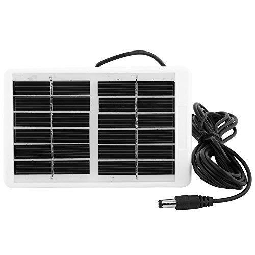 Este artículo está diseñado para ofrecer una fuente de alimentación continua. El panel solar está hecho de materiales de calidad, debido a su diseño de alta tecnología, con alta tasa de conversión, no importa cómo el ángulo de la luz solar cambie, pu...