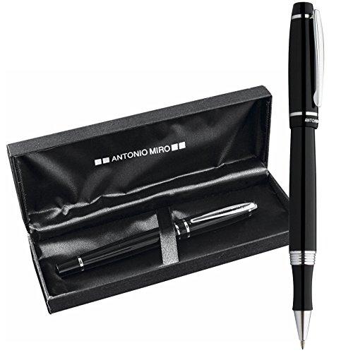 antonio-miro-penna-a-sfera-classica-metallica-custodia-con-logo-stampato-ideale-come-regalo