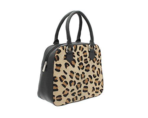 Borsa Della Spesa Della Borsa Della Raccolta Di Matrah Della Pelle Di Mala Stampa Animale 7102_90 Gepard Gepard