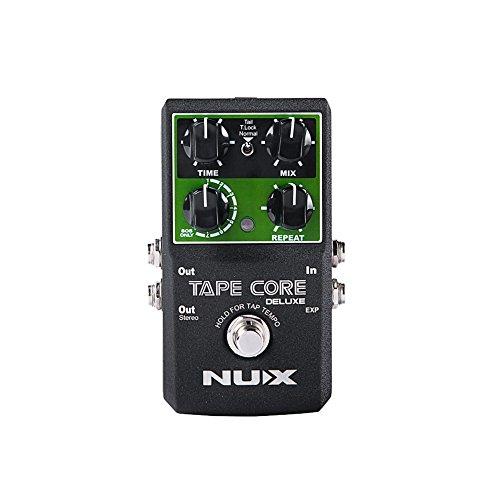 NUX Tape Core Gitarren-Effekte Effektpedal,Wahrer Bypass Echo Effekte für Gitarre Bass - Lightwish Mxr Phase Shifter