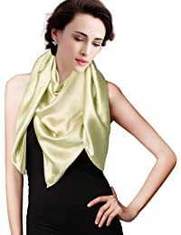 Fashion Plaza Satin Umschlagtücher Schal in 17 Farben 180cm*45cm Modul A002