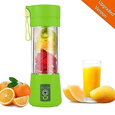 Chalowkart® Rechargeable Portable Electric Mini USB Juicer Bottle Blender for Making Juice, Shake, Smoothies, Travel Juicer for Fruits and Vegetables
