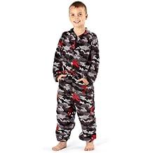 Severyn Pijama de una Pieza/Mono / Onesie con Estampado de Camuflaje para niños