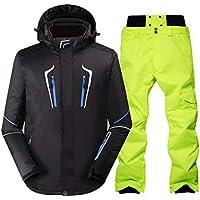 KARTELEI Skianzug Herren Winter Outdoor Winddicht Wasserdicht Warm Ski Hosenanzug
