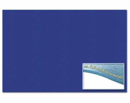 folia 510336 – Bastelfilz 30 x 45 cm, ca. 3,5 mm, 1 Bogen, ultramarin