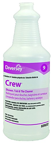 Diversey Crew 903922 Shower, Tub and Tile Cleaner 12 x 32 oz./946 mL Empty Bottles (Pack of 12)