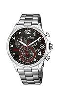 Lotus 10126/2 - Reloj de pulsera hombre, Acero inoxidable, color Plateado