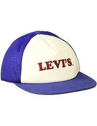 Levi's Men's Cap (77136-0429_White & Blue_One Size)