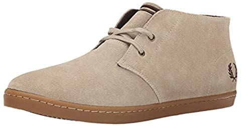 Fred Perry Byron Mid, Bottes pour Homme - beige -