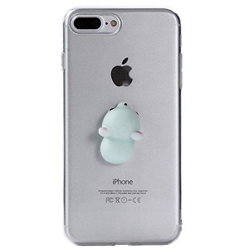 iPhone 7 Plus Hülle, Voguecase Silikon Schutzhülle / Case / Cover / Hülle / TPU Gel Skin für Apple iPhone 7 Plus 5.5(Pinch Puppen - Hund) + Gratis Universal Eingabestift Pinch Puppen - Maus