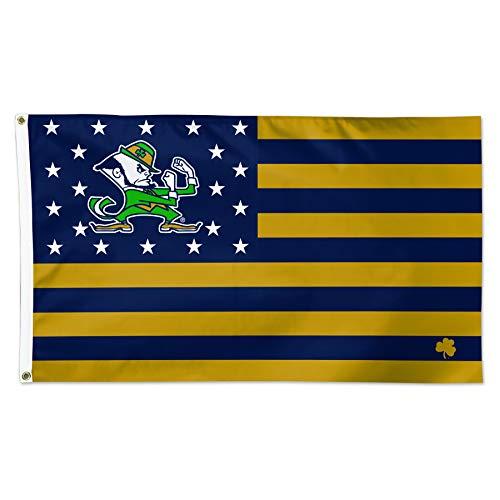 Wincraft Snack-Schale Notre Dame Fighting Irish NCAA Football Amerikanische Flagge 3x 5Fuß Flagge