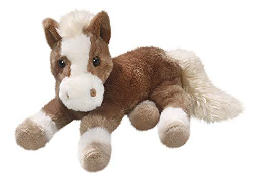 Carl Dick Pferd liegend braun aus Plüsch ca. 30cm 3303002