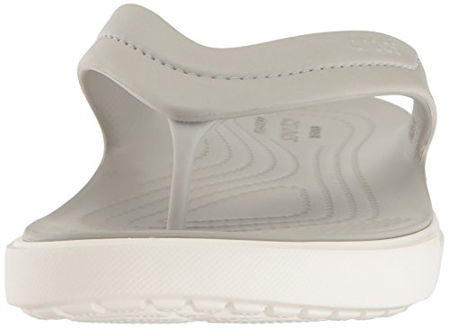 Crocs Citilane Flip Pwh/whi, Pantoufles non doublées mixte adulte Blanc (Pearl White/White)