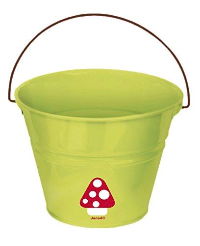 Preisvergleich Produktbild Janod Outdoor Spielzeug - Eimer Pilz, 16 x 16 x 12 cm, Grün