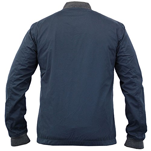 Herren Baseball Jacken By Threadbare Marineblau - DMU186PKA