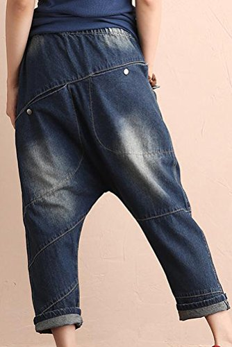 Vogstyle Femme Jeans Ripped New Mode pantalons Harem Collapse - Art 4