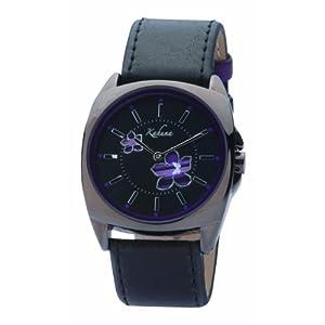Kahuna KLS-0045L – Reloj analógico de mujer con correa negra –