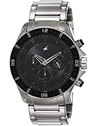 Fastrack Chrono Upgrade Analog Black Dial Men's Watch -NK3072SM01