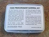Food Procurement Survival Kit by Shomer Tec 3 unique Survival Fish Hooks 25