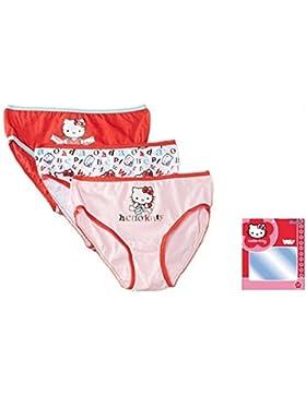 3 Mädchen Unterhose Hello Kitty