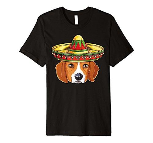 Cinco De Mayo Beagle T Shirt Herren Damen Kinder Jungen Sombrero