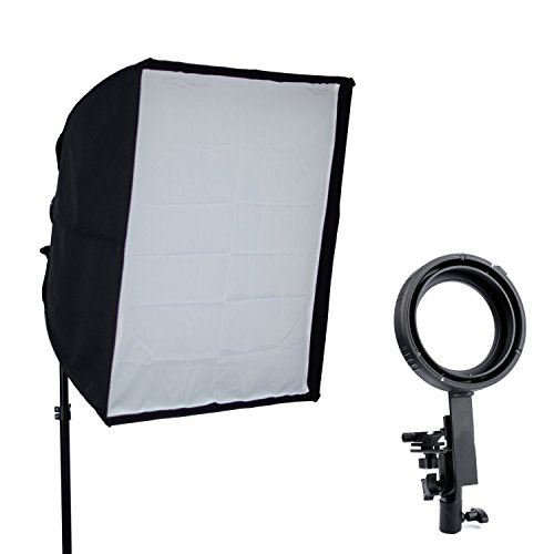 Phot-R professionale 60x60cm ombrello pieghevole Striscia Softbox con Elinchrom Speedring per Photo Studio di illuminazione flash +