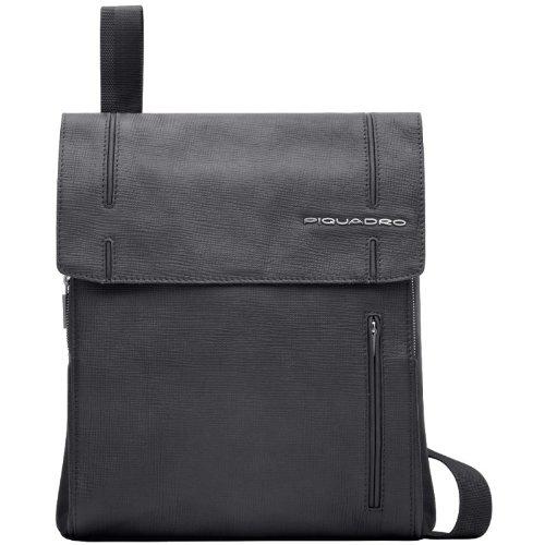 """Borsello grande in pelle Piquadro, con tasca tablet, linea """"Galileo W52"""""""