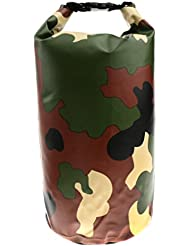 MagiDeal 10L Etanche Sac Poche Pour Camping Canotage Rafting Pêche Kayak-Vert Militaire