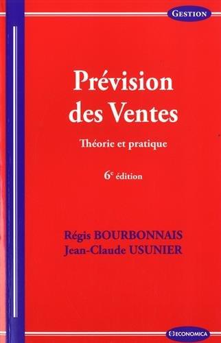 Prevision des Ventes, 6e ed.