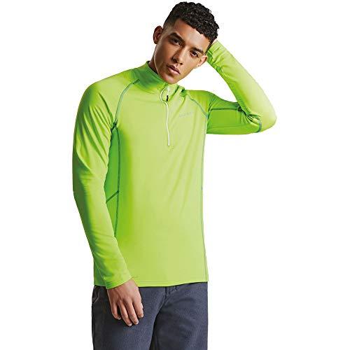 Dare 2b Mens Interfuse Core Stretch Raglan Sleeve Pullover Jacket - Sleeve Core Raglan