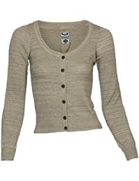Fresh Made Cardigan, Größe:XL;Farbe:Brown Melange