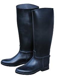 AMKA Reitstiefel | Reiter Stiefel für Kinder Youngster | Kinder Reitstiefel mit Sporenhalterung Fußeinlagesohle,30 EU