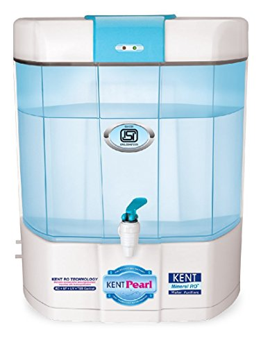 Kent Pearl 8L Mineral RO/UV/VF Water Purifier(White)
