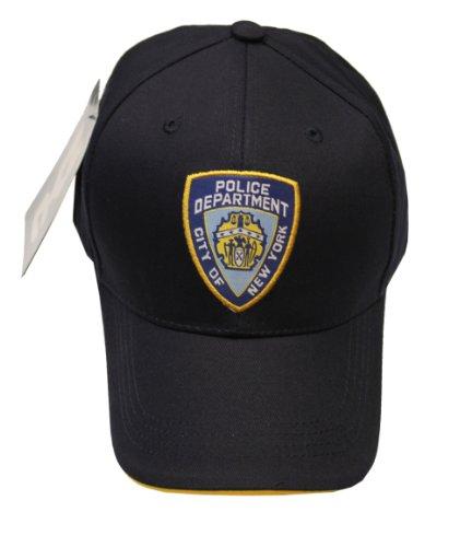 Baseballkappe New Yorker Polizei NYPD, Einheitsgröße, Marineblau