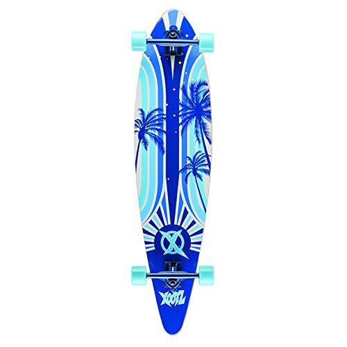 Xootz Kid 's Island komplett Longboard Skateboard–Blau, 40