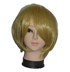 ONE PIECE Sanji style de perruque cosplay avec un filet (japon importation)