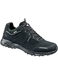 Mammut Damen Wall Guide Low GTX Trekking-& Wanderhalbschuhe, Grau (Graphite-Barberry), 42 EU