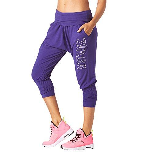 b377e8f67b86fa Zumba Fitness® Fiesta en Da Basement Harén Capris Mujer Pantalones, Todo el  año,
