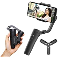 FeiyuTech VLOGpocket a 3 assi - Stabilizzatore portatile per Smartphone con mini treppiede - Scuro