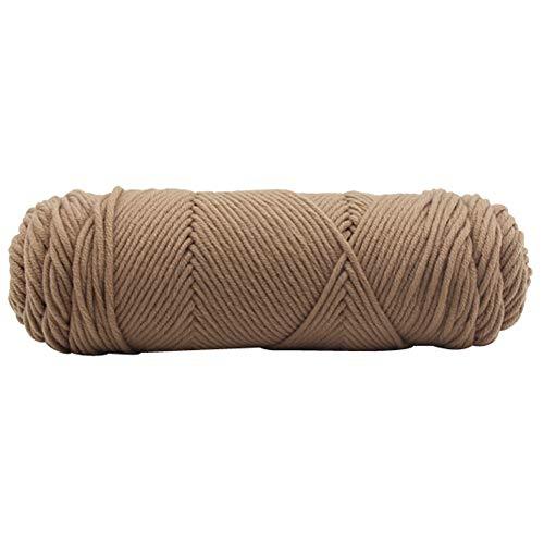 TianranRT 100g Chunky Wolle Roving Schal stricken Wolle Garn Dicke warm Hut Haushalt (D) -