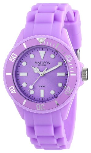 Pastell Lila Madison New York Candy Time Mini Damen Armbanduhr