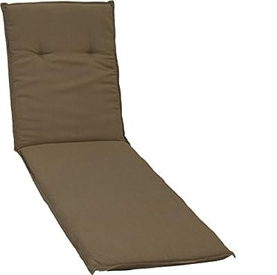 Kissen Polster für Rollliege in sandfarben für Gartenmöbel von Gartenstuhl-Kissen bei Gartenmöbel von Du und Dein Garten