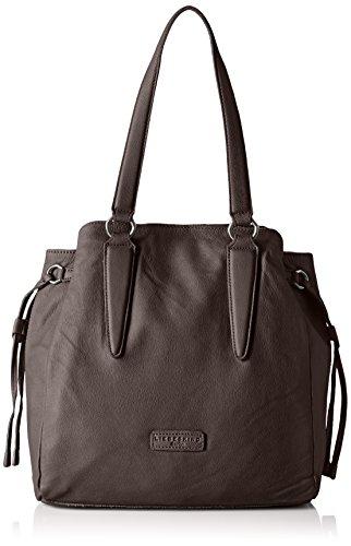 Liebeskind Berlin Damen Osakiw Vintag Shopper, 60x39x12 cm Grau (greyish 8691)