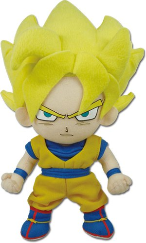 PELUCHE GOKU SUPER SAIYAN DRAGON BALL Z 20 CM